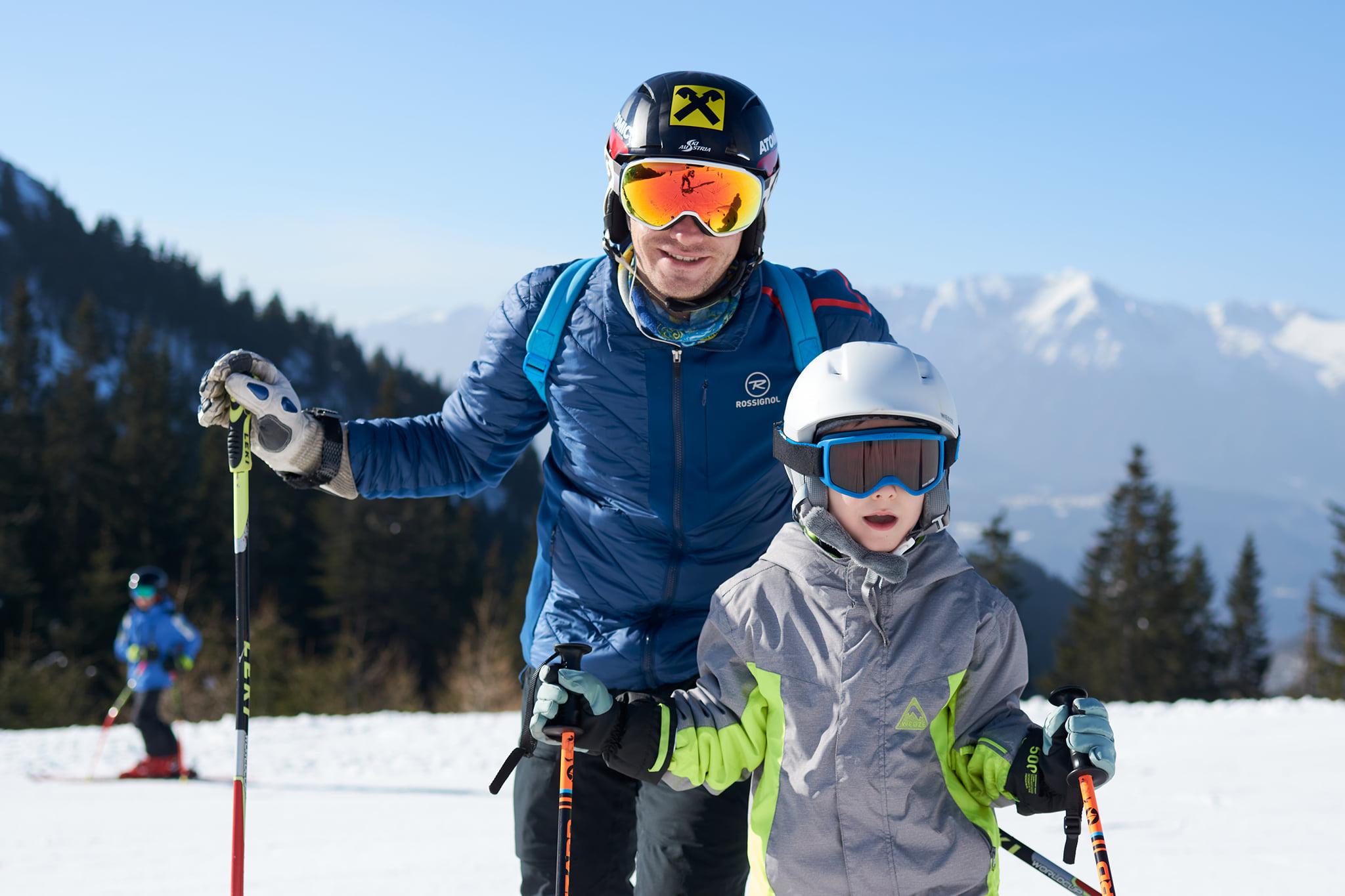 Lectii de ski pentru copii cu R&J Scoala de Ski si Snowboard din Poiana Brasov